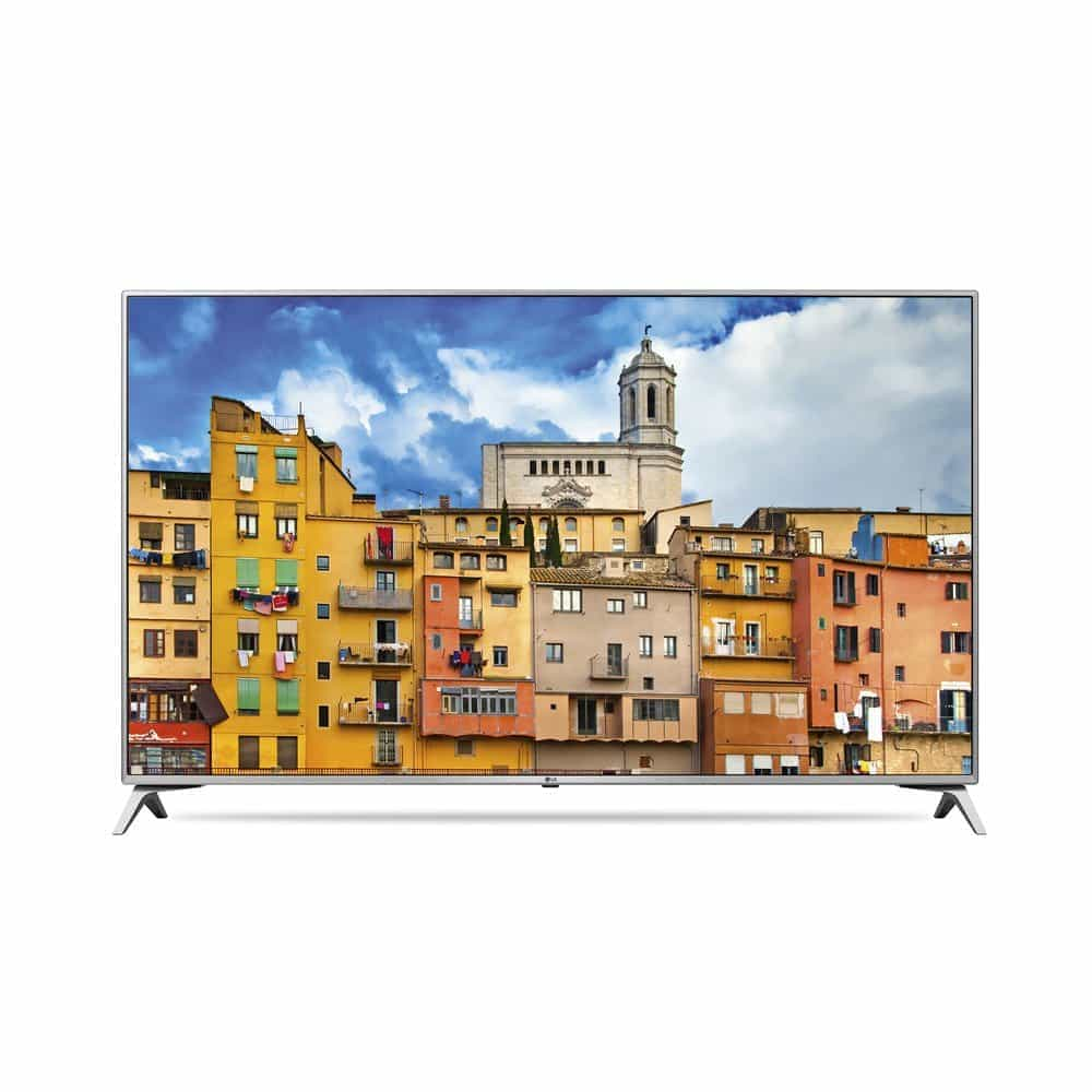 lg 65uj6519 65 zoll fernseher mit smart tv und uhd 4k. Black Bedroom Furniture Sets. Home Design Ideas