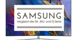 Samsung Fernseher Unterschiede 2017