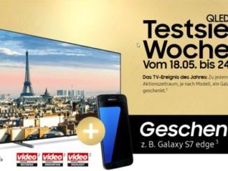 Samsung QLED Testsieger Woche
