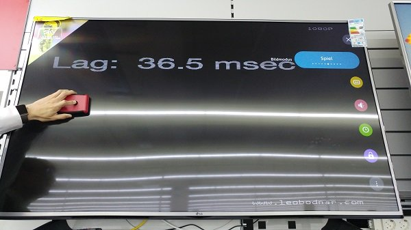 LG 60UH605V Gaming Modus