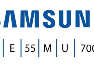 Samsung-Fernseher-Produktbezeichnung