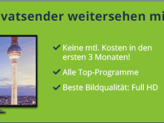 Bild über Freenet TV - 3 weitere gratis Monate bekommen