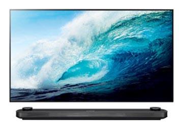 LG-Fernseher-OLED-W7V-vorne