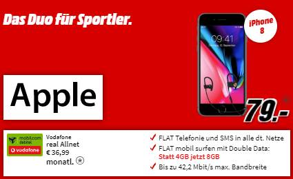 apple iphone8 angebot media markt