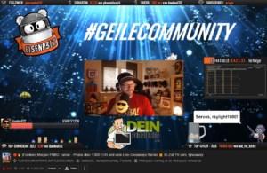 Eisenp3lz im Livestream auf Twitch