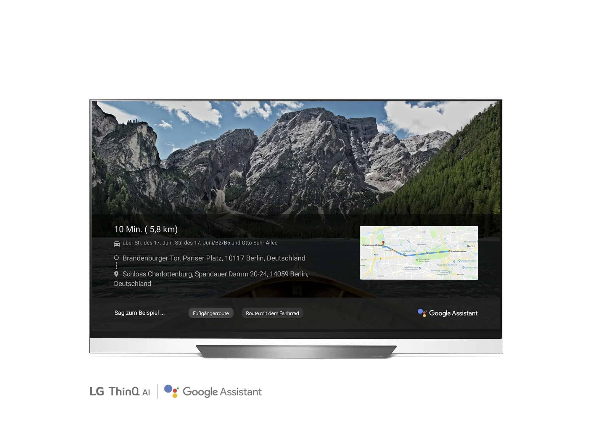 google assistant auf lg fernsehern update f r deutschland. Black Bedroom Furniture Sets. Home Design Ideas