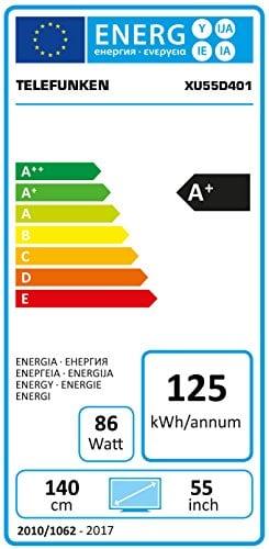 telefunken-xu55d401-energielabel