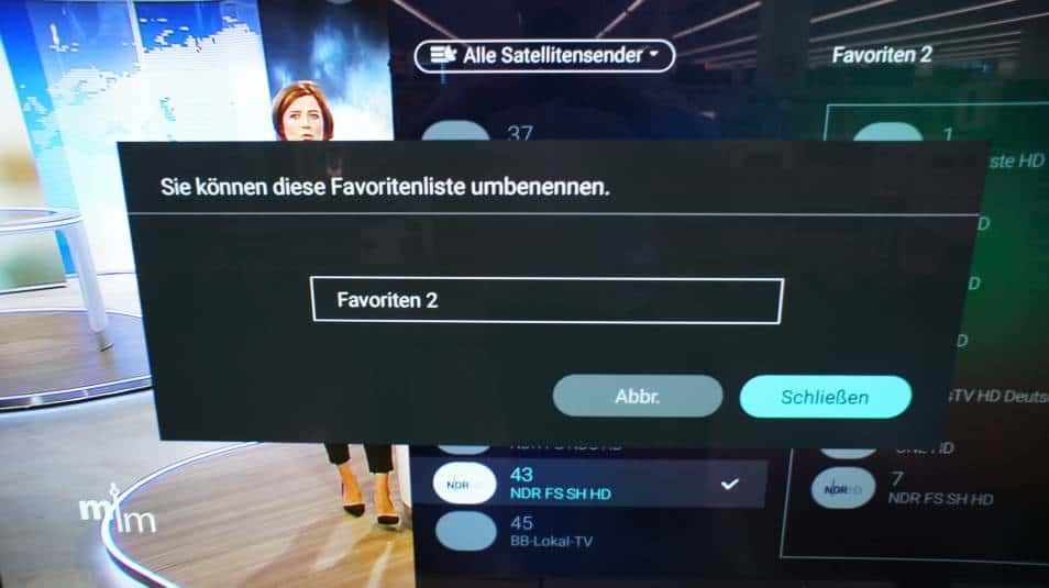 philips tv sender sortieren