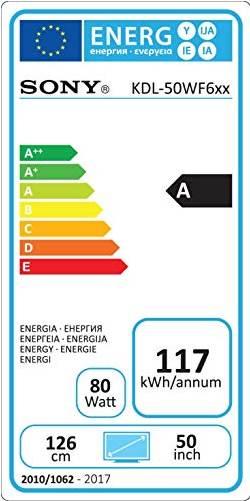 sony-kdl-50wf665-energielabel