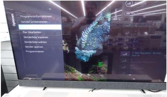 Philips Sender Sortieren - Android TV 2019 - Schritt 3