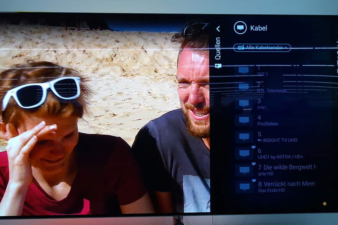 Sender Sortieren am Philips TV mit Andoird 2019