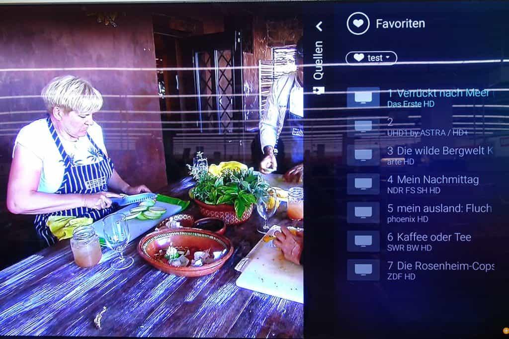 Philips Sender Sortieren - Android TV 2019 - Schritt 14