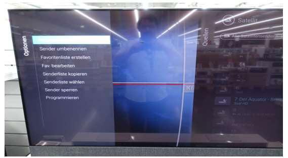 Philips Sender Sortieren - Android TV 2019 - Schritt 2