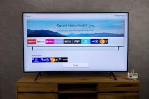 Samsung RU7379 - Smart TV Einrichtung