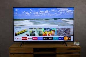 Samsung RU7379 - Smart TV Mediathek Empfehlung